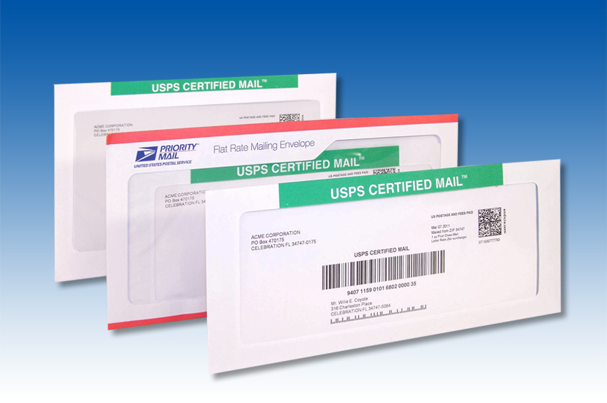 How To Find Out Who Sent A Certified Letter.How Does It Work Certified Mail Labels